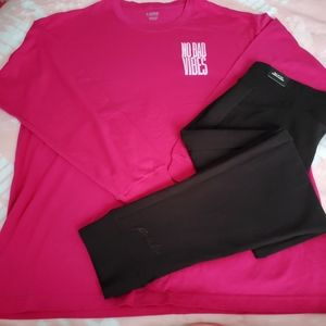 PINK Outfit XL